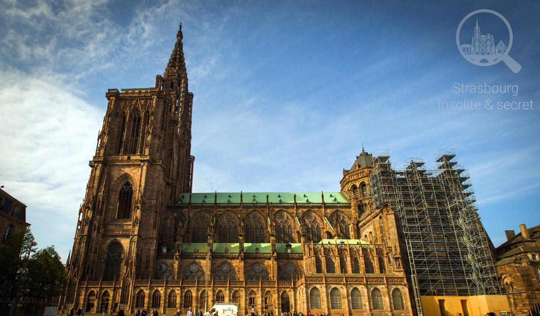 Le meilleur guide insolite et secret de Strasbourg. Visites des monuments méconnus et des trésors cachés de la Capitale de l'Alsace. Anecdotes, lieux oubliés et histoires mystérieuses pour découvrir Strasbourg autrement, en dehors de sentiers battus. Vous trouverez ici tout ce que les autres guides ne mentionnent pas !